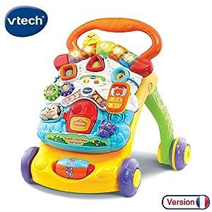 VTech - Super Trotteur Parlant 2 en 1 Orange – Trotteur interactif pour apprendre à marcher 2