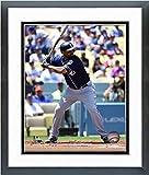 "Matt Kemp San Diego Padres 2016 MLB Action Photo (Size: 12.5"" x 15.5"") Framed"