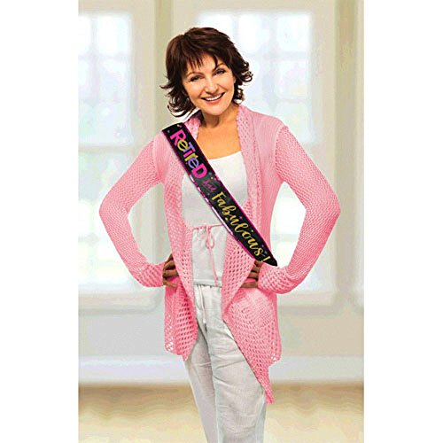 Retirement 'Officially Retired' Sash (1ct)]()