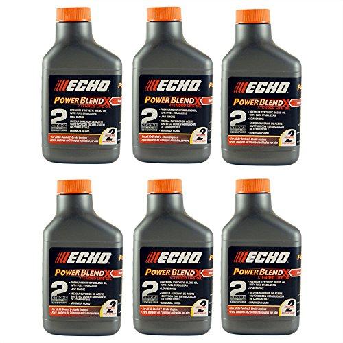 (Echo 6450002 PK6 2 Gallon Power Blend Oil Mix (50:1))