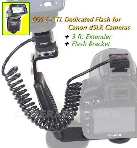 UPC 021331000163, Dedicated ETTL I/II FLASH, Bracket, Extender for Canon EOS dSLRs