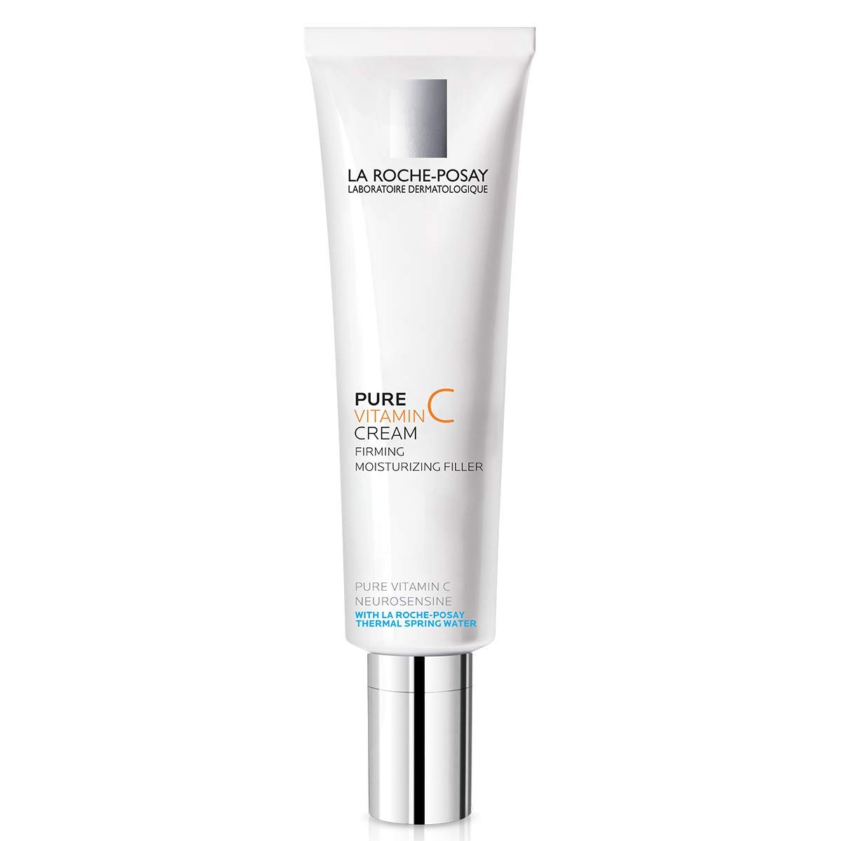 La Roche-Posay Redermic C Anti-Wrinkle Vitamin C Moisturizer with Pure Vitamin C & Hyaluronic Acid for Normal to Combo Skin, 1.35 Fl. Oz.