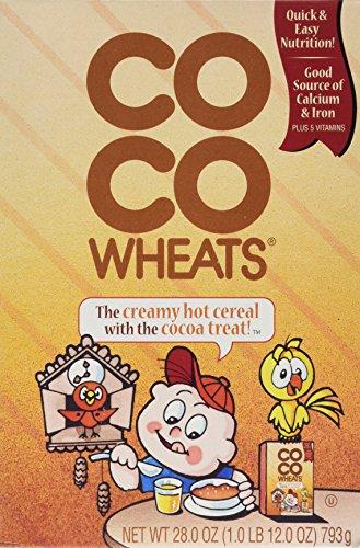 - Coco Wheats Hot Cereal Cocoa 28-oz