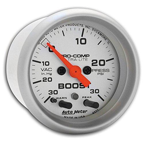 Auto Meter 4377 Ultra-Lite Electric Boost/Vacuum ()