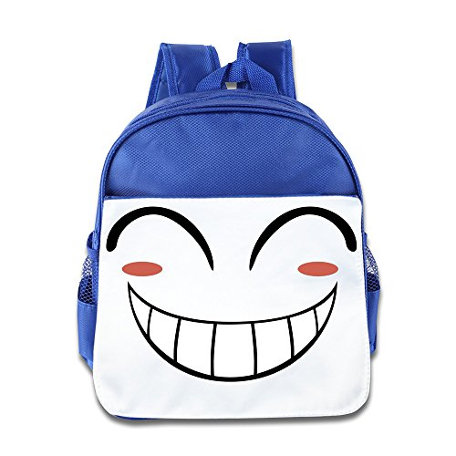 XJBD Custom Superb Smile Eyes Face Children School Backpack For 1-6 Years Old - Two Face Wiki