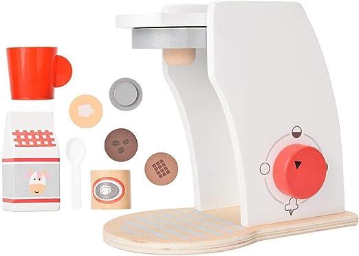 KEYREN Cafetera Juguete Cocina educativa Play House Kid Niños Madera Simulación Cocina: Amazon.es: Hogar