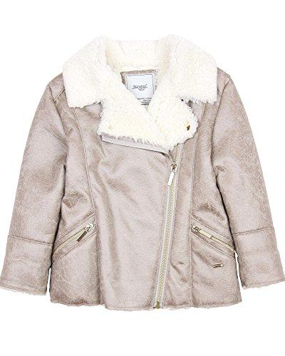 Girls Faux Shearling Coats - 7