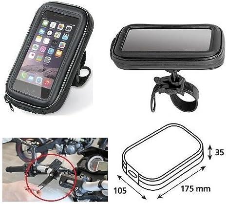/2017 Porte t/él/éphone portable Smartphone T/él/éphone Coque de guidon 90423/Lampa v/élo moto pour Honda CB 1300/2007/