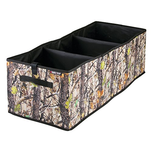 Swiss+Tech Swiss+Tech Woodland Camouflage Expandable Cargo Storage Organizer Bin for Cars/Trucks/SUVs/RVs - Deep (Camouflage Trunk)