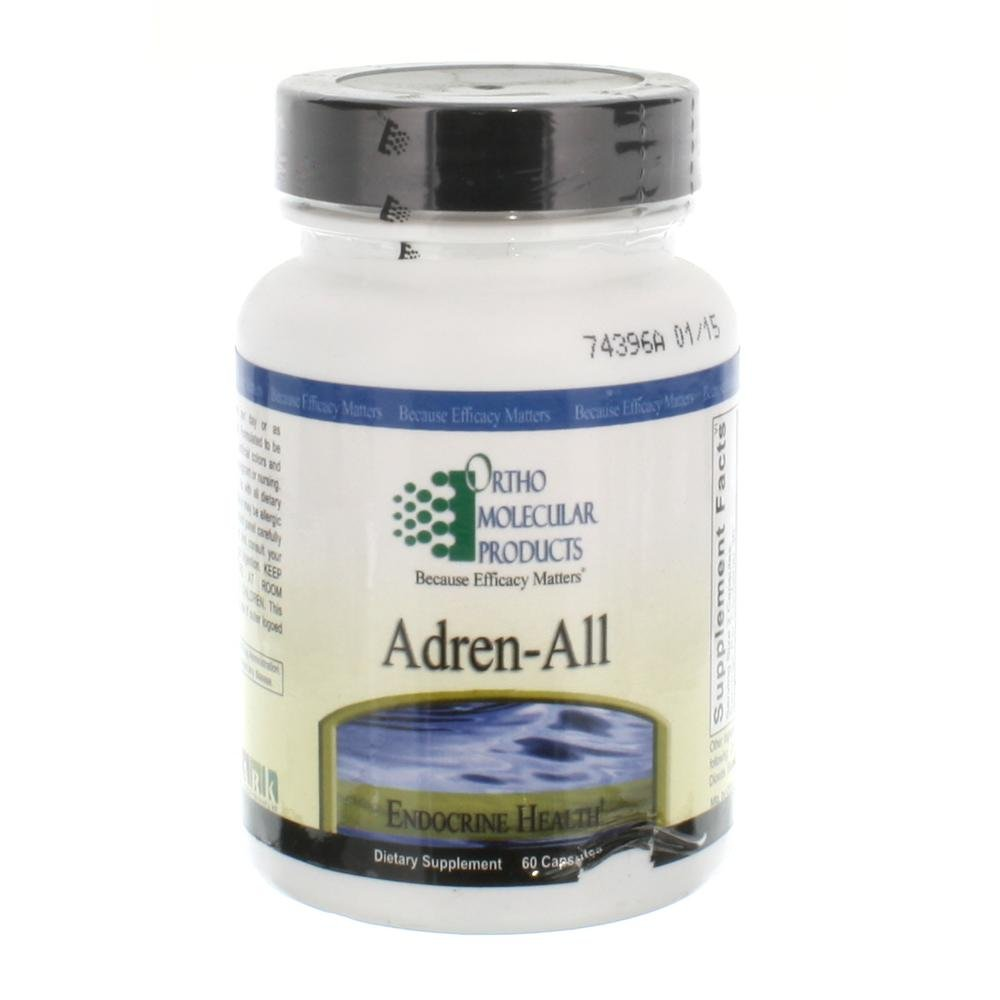 Ortho Molecular Adren-All 60ct [Health and Beauty]