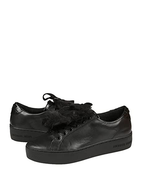 Michael Kors Zapatillas Poppy Sneaker Black Croc 39: Amazon.es: Zapatos y complementos