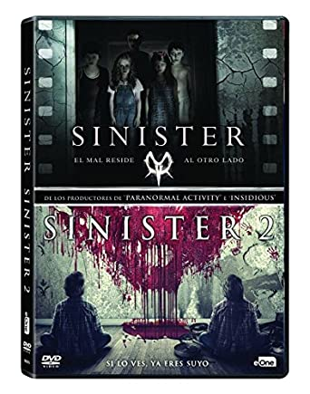Pack Sinister 1 + 2 [DVD]: Amazon.es: Ethan Hawke, James Ransone, Shannyn Sossamon, Scott Derrickson, Ciarán Foy, Ethan Hawke, James Ransone: Cine y Series TV