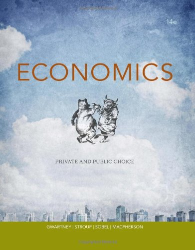 Economics: Private and Public Choice