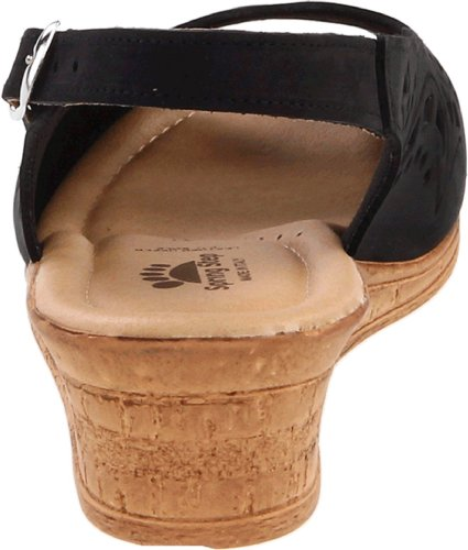 Orella Slingback Sandaali Nubuck Musta 10 M Us 42 Askel 5 eu 11 Kevään Naisten qYIXwEnt
