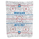 Hockey Baby & Infant Blanket | Hockey Rink