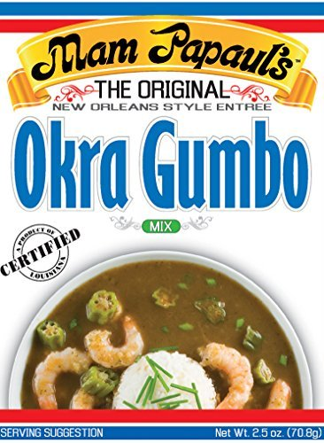 Mam Papaul's Gumbo with Okra Mix 2.5 oz