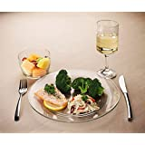Meal-Trax Portion Control Dinner Plate - Set of 2