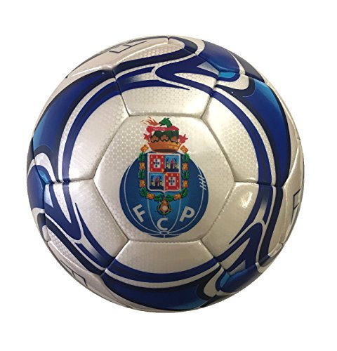 fan products of Icon Sports Official Licensed Size 5 Soccer Ball, FC Porto, White