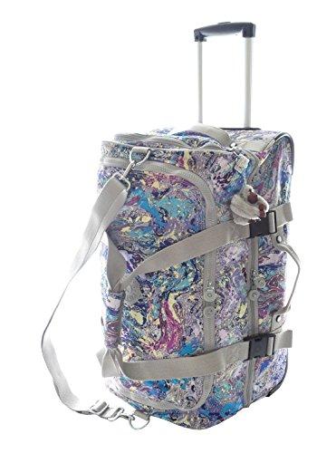 Kipling Teagan Trolley Travel Bag, Marble Multi by Kipling