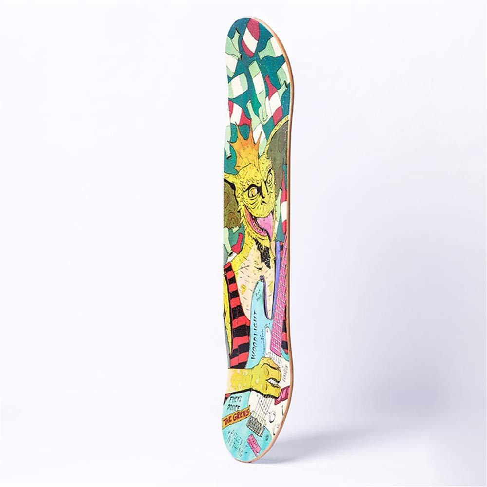 FTYUC Skateboard bilaterale a a a Due Ruote a Doppia Ruota per Adulti Professionale Acero Longboard Demone Rock B07LG5J6LV Parent | a prezzi accessibili  | Apparenza Estetica  | Speciale Offerta  | Materiale preferito  | Ammenda Di Lavorazione  | Di Alta 20f505