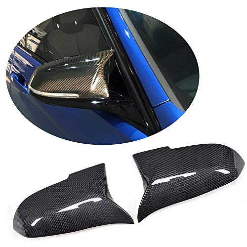 MCARCAR KIT Fits BMW F20 F22 F30 F35 F34 GT F32 F33 F36 Factory CNC Moulding Carbon Fiber Replacement Rearview Mirrors Covers Cap LHD