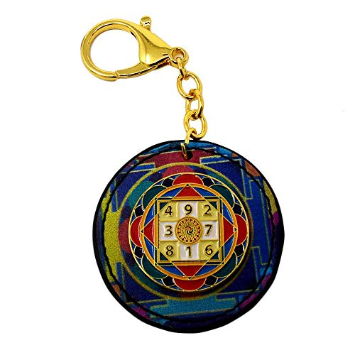 Feng Shui Sum-of-Ten Enhancer Amulet Keychain W3756 ()