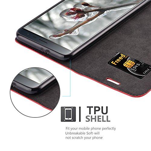 Cadorabo - Funda Book Style Cuero Sintético en Diseño Libro para >                                          Asus ZenFone 3                                          <