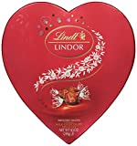 Lindt Lindor Valentine Truffles Gift Box, Milk Heart, 8.5 Ounce