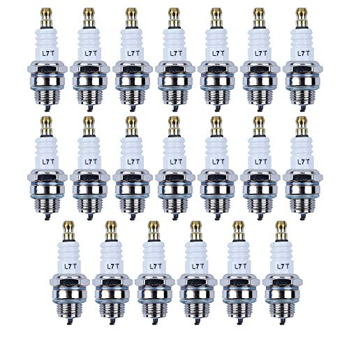 Haishine 20pcs Spark Plug for Husqvarna 55 51 61 66 181 262 268 365 371 372 XP Chainsaws ()