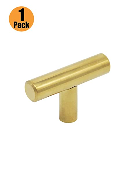 lat/ón cepillado T Bar pomos acero inoxidable 9/tama/ño Probrico tiradores de puerta de armario de cocina 50/mm, 64/mm, 76/mm, 96/mm, 128/mm, 160/mm, 192/mm, 224/mm, 256/mm