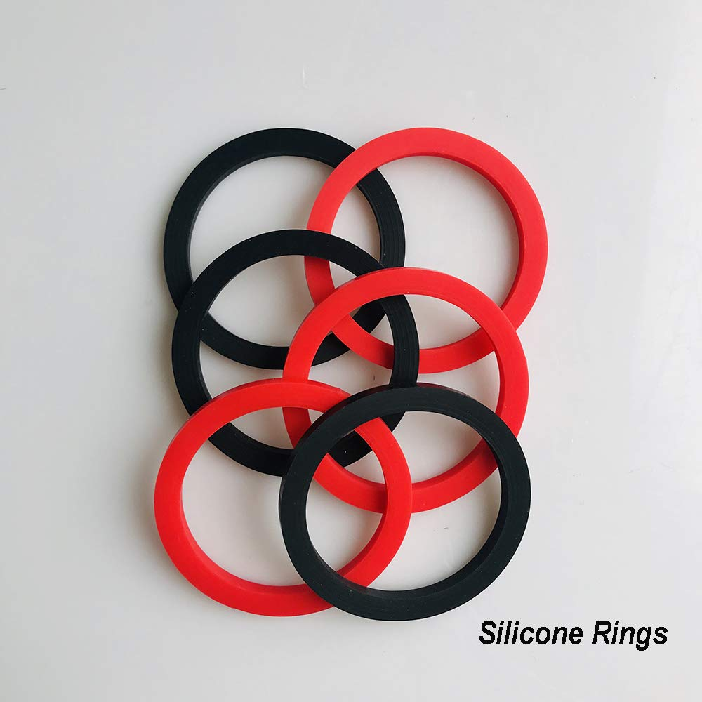 Simple 6 Silicone Rings And 13 Metal Hooks Ring Toss Game For Adults Hookey Rings Easy