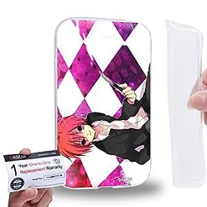 Case88 [Samsung Galaxy Grand Duos i9082 i9080] Gel TPU Carcasa/Funda & Tarjeta de garantía - Assassination Classroom Karma Akabane 1732