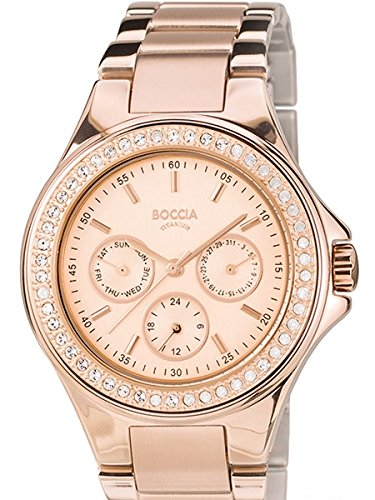 3758-02 Ladies Boccia Titanium Watch