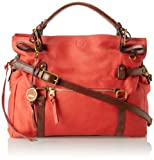 Elliott Lucca Sola Soft Tote,Poppy,One Size, Bags Central