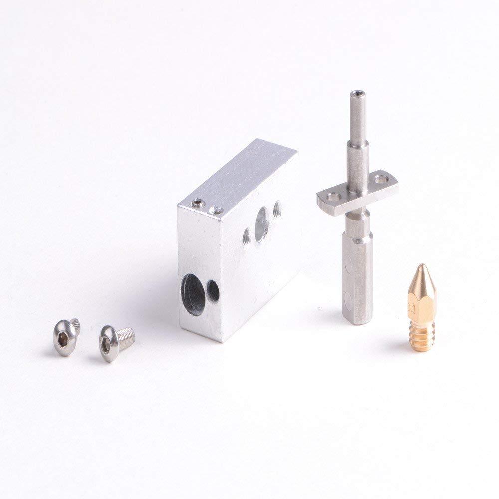5 Piezas 1.75mm 0.4mm Cobre Zortrax M200 Boquilla para Impresora 3D ILS