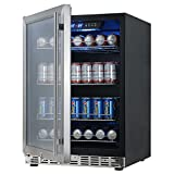 24 inch Under Counter Built in Beverage Cooler Refrigerator | KBUSF54B