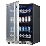 Appliances : 24 inch Under Counter Built in Beverage Cooler Refrigerator | KBUSF54B