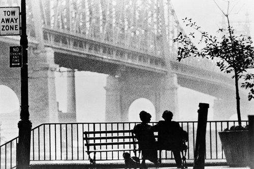 - Manhattan Woody Allen 24x36 Poster iconic Queensboro bridge scene