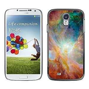Radiance Of The Skies - Metal de aluminio y de plástico duro Caja del teléfono - Negro - Samsung Galaxy S4