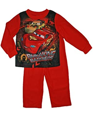 Cars Baby-Boys Infant Lightning Mcqueen Flannel Pajamas