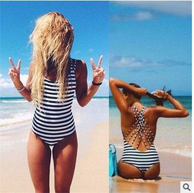 XX&GXM  Badeanzug Verband der Frauen zusammengeleitet Strand Bikini