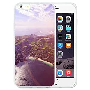NEW Unique Custom Designed iPhone 6 Plus 5.5 Inch Phone Case With Sunny Day Over Port City_White Phone Case