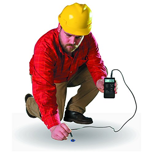 Lignomat Concrete Moisture Meter RH-KS, LignoTec RH Package follows ASTM F2170