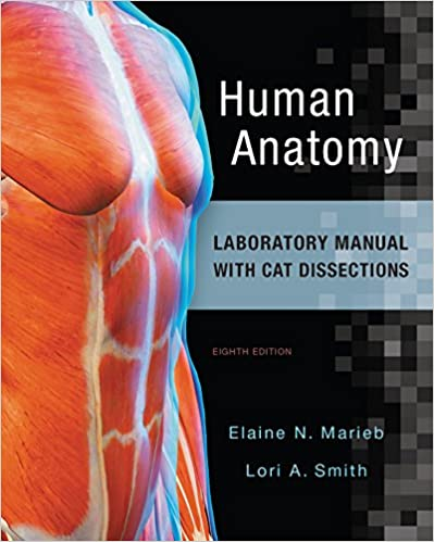 Human Anatomy Laboratory Manual With Cat Dissections 8 Elaine N