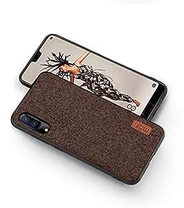 MOFI Huawei P20 Case, Fabric Brown