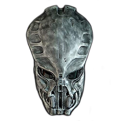 (1:1 Full Scale Prop Replica Sideshow Predator AVP Helmet Mask Home Decoration Wall Hanging Guardian PD21)