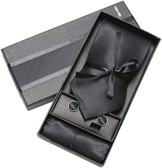 Colecciones de corbatas en caja de regalo, corbata para hombre ...