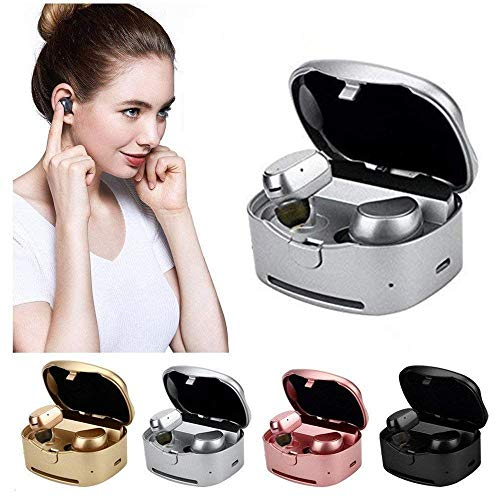 Wireless Earbuds,Hulorry Wireless Bluetooth Earbuds Sport,with Charging Box Noise Cancelling Sweatproof Earphones for Gym Running for iPhone iPad Samsung Tablets All Bluetooth Device