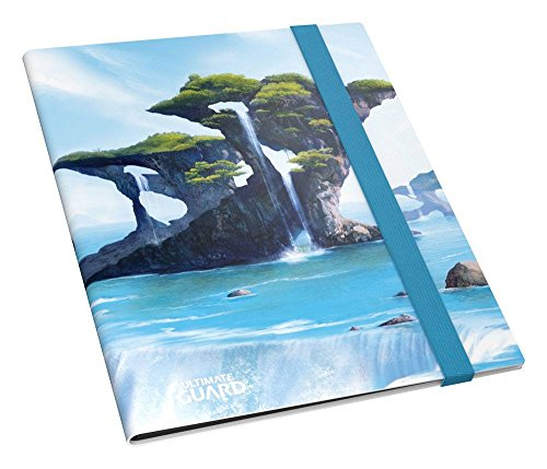 Ultimate Guard Binder 9-Pocket Flexxfolio Lands Edition Island Collectible Card Protection by Ultimate Guard