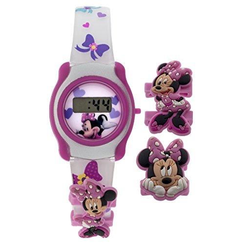 MZ Berger Girl's 'Minnie Mouse' Japanese Automatic Plasti...